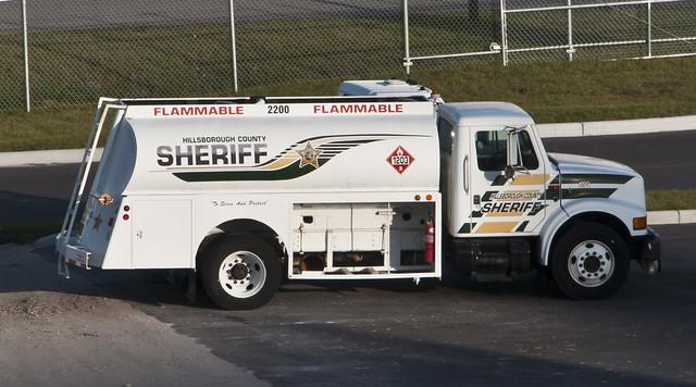 Hillsborough Sheriff Tanker