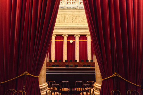 United States Supreme Court Chamber