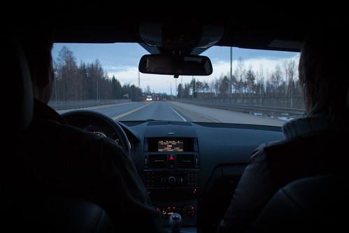 Matkalla Ouluun