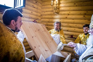 Освящение храма в Кремле 50