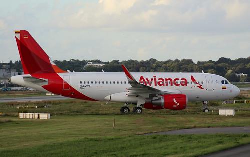 Avianca Colombia, D-AVWZ, Reg.N751AV, (c/n 7284), Airbus A 319-115 (SL), 05.08.2016,  XFW-EDHI, Hamburg-Finkenwerder | by henrykkonrad
