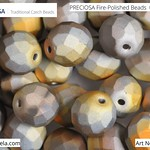 PRECIOSA Fire-Polished Beads - 151 19 001 - 00030/28053