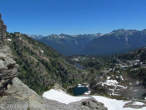 Views over Heather Meadows from Table Mountain, Mount Baker-Snoqualmie National Forest, Washington