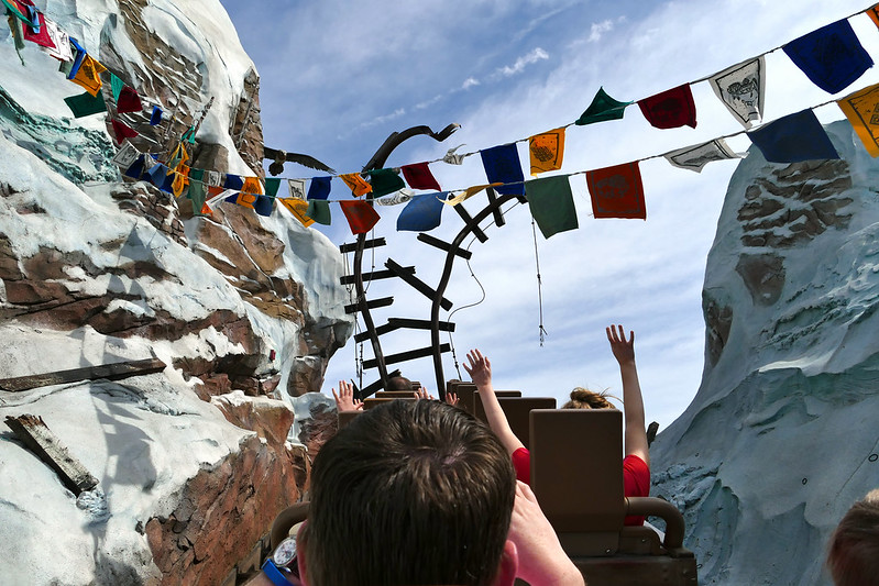 Rail's End at Expedition Everest