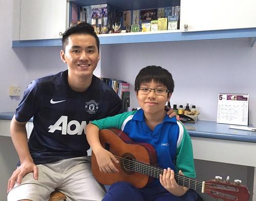 1 to 1 guitar lessons Singapore Samuel