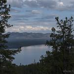 Shoshone Lake from Divide Trail