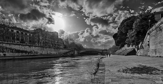 The Tiber River   by Vladimir Lazarov