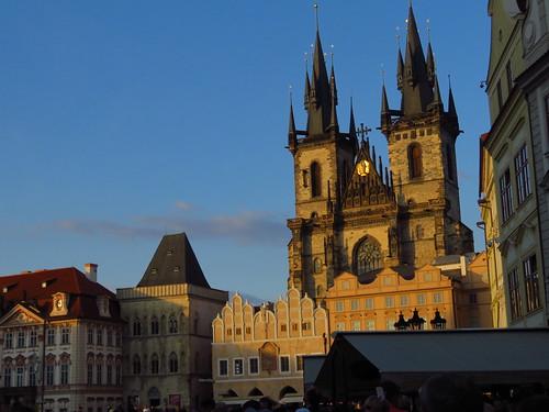 圖06布拉格素有建築之都美譽,由於沒受戰火破壞,歷代建築風格得以保留。