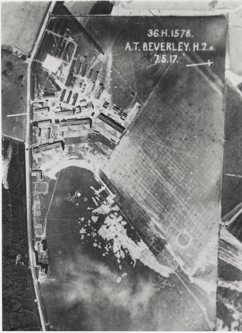 Royal Flying CorpsTraining Depot Station no.36, Beverley 1917 (archive ref DDX815-1)