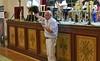 Josef Hipp moderiert die Veranstaltung. Er war früher selbst in der Billeder Blaskapelle aktiv und ist als erfolgreicher Unternehmer auch ein erprobter Organisator.