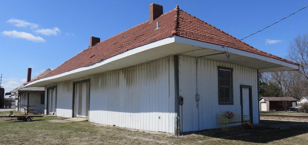 Old Baltimore and Ohio Railroad Depot (Pana, Illinois)
