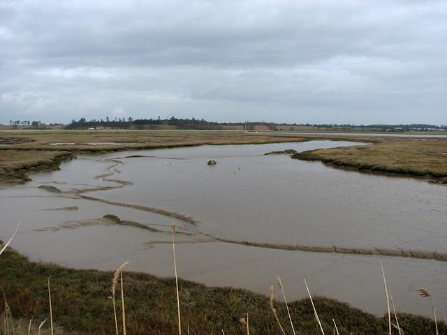 The River Deben near Falkenham