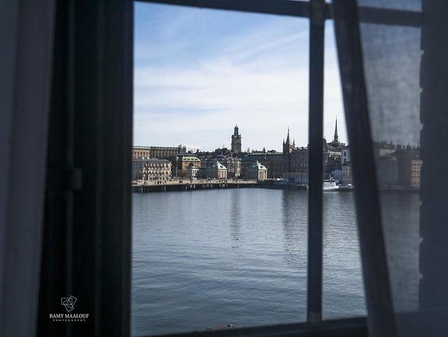 Window to Stockholm