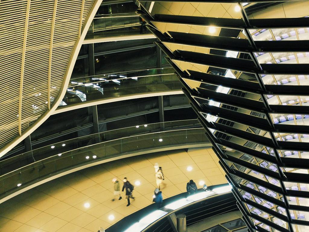 Deutscher Bundestag - Plenarbereich Reichstagsgebäud