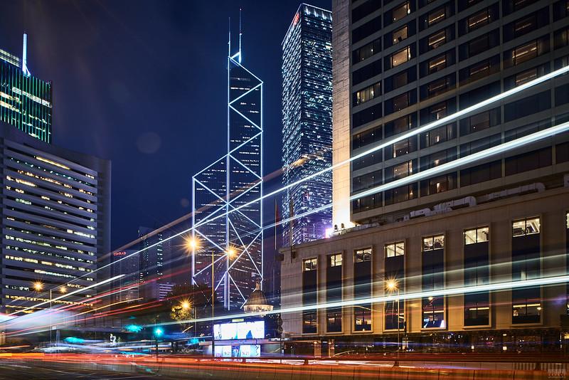 Hong Kong Central - the Bank of China Tower