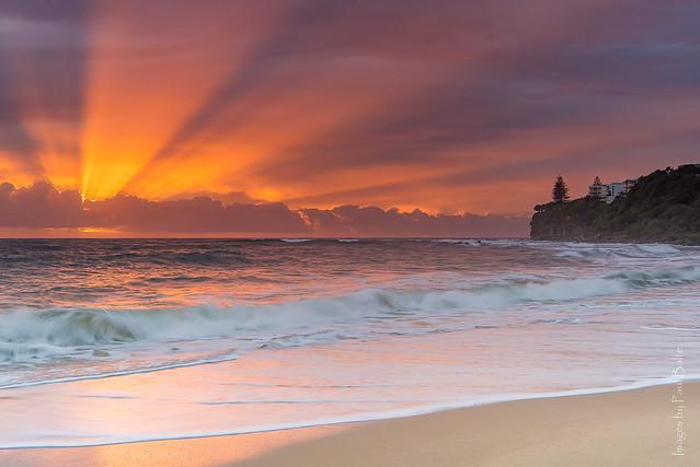 Moffat Beach Sunrise