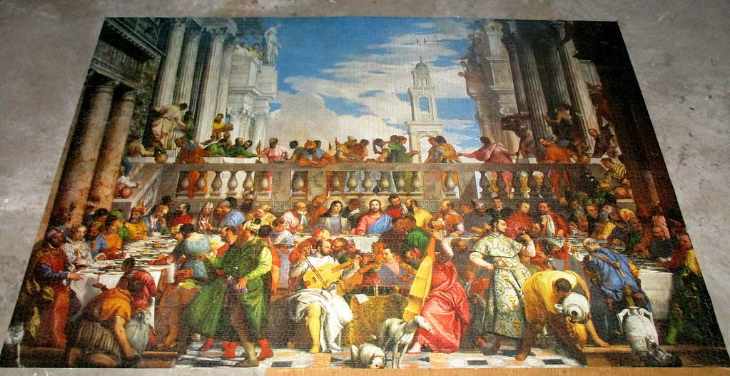Wedding Feast At Cana.9000 Piece Wedding Feast At Cana Completed I Completed Thi Flickr