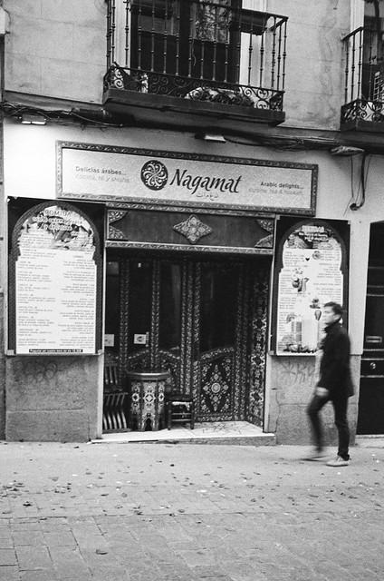 Tetería Barrio de las Letras - Olympus XA1 - Explore