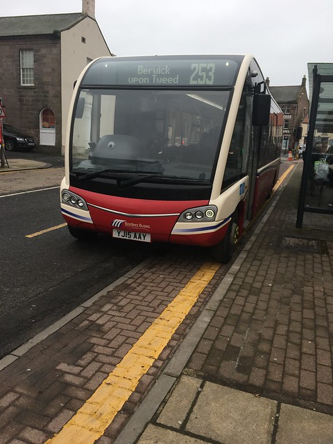 Borders Buses Optare Solo SR YJ15AAY 11504