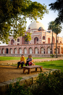 Respite in the Char Bagh | Humayun's Tomb, Delhi, India | by t linn