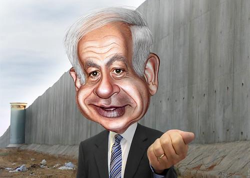 Benjamin Netanyahu - Caricature, From CreativeCommonsPhoto