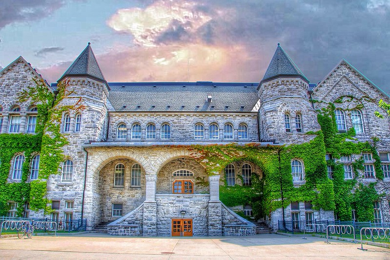 Kingston Onatrio ~ Canada ~ Queens University ~ Ontarion Hall ~ Heritage ~ Historic