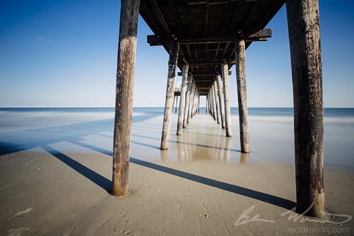 ocean wood longexposure beach pier newjersey sand unitedstates kodak nj oceancity atlanticocean e200 2015 leefilters vsco bigstopper