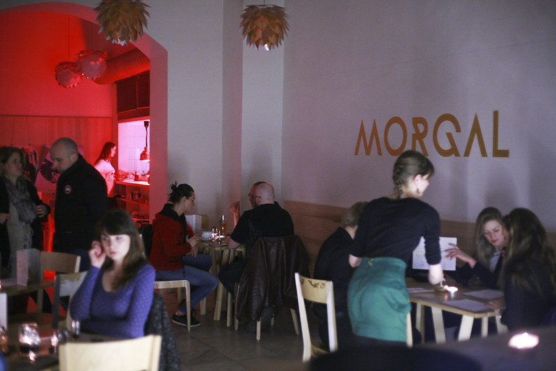 \ EARTH HOUR – Café MORGAL