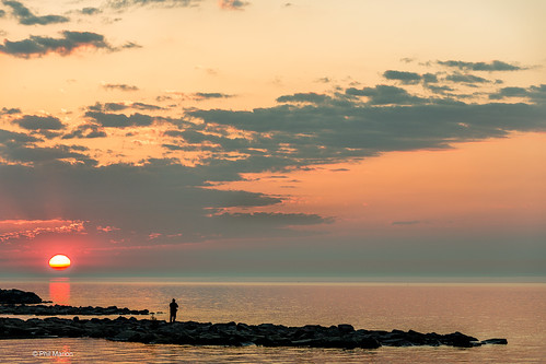 Witnessing the start of a new day - Kew Beach, Toronto | by Phil Marion (176 million views - THANKS)