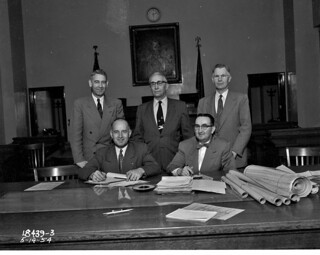 Board of Public Works, 1954 | by Seattle Municipal Archives