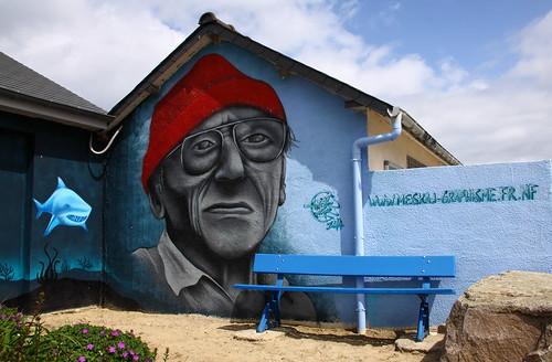 Erquy - Jacques-Yves Cousteau