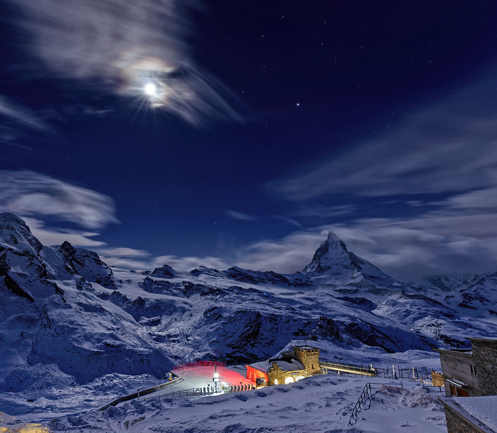 Mooning Over New Missoni: Moon Over Gornergrat Railway