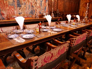 Dining Room in Hearst Castle | by usareisetipps