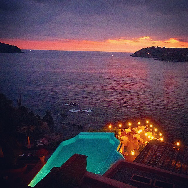 Remembering the beautiful colors of Zihuatanejo, Mexico  I