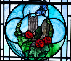 Diocesan Centenary window: St Edmundsbury Cathedral (Deborah Lowe, 2013)