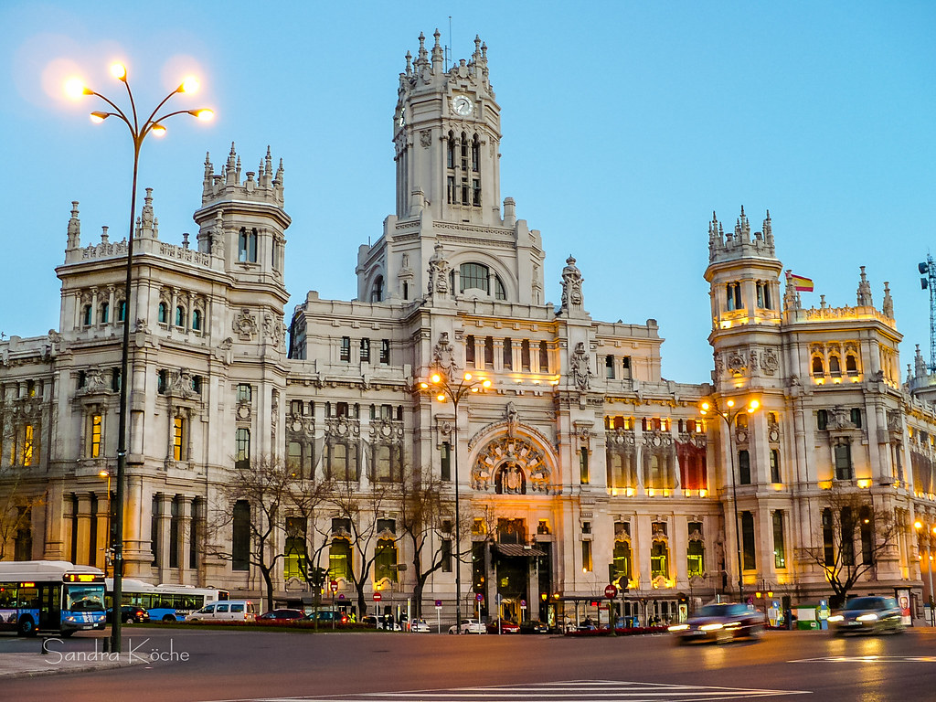 Palacio Dos Correios Madrid Sandra Koche Flickr