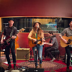 Thu, 12/03/2015 - 7:07pm - Brandi Carlile, Phil and Tim Hanseroth and the band, Electric Lady Studios session, NYC. Hosted by Rita Houston. Photo by Gus Philippas.