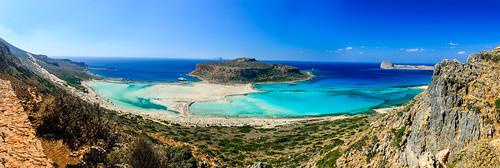 blue sea swim bay holidays pano crete mpalos