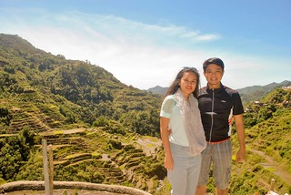 Janna and Nikko in Front of Banaue Rice Terraces | by couplemeetsworld