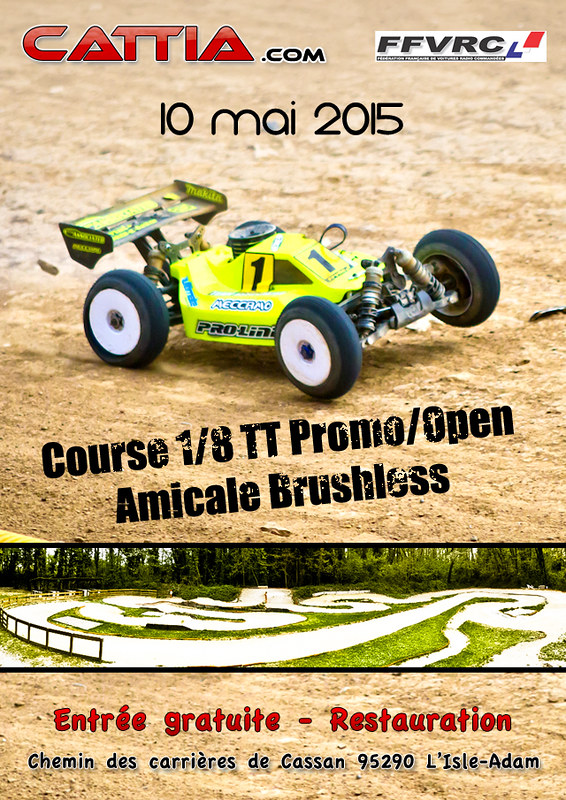 affiche course CATTIA