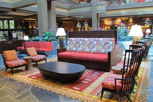 New seating in the Great Ceremonial House | by The Tiki Chick