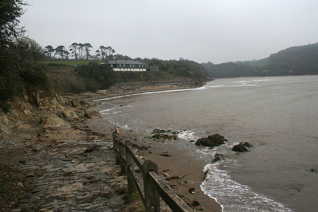 The beach at Mothecombe