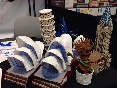 SXSWedu Playground handdrawn 3D print | by Anetq