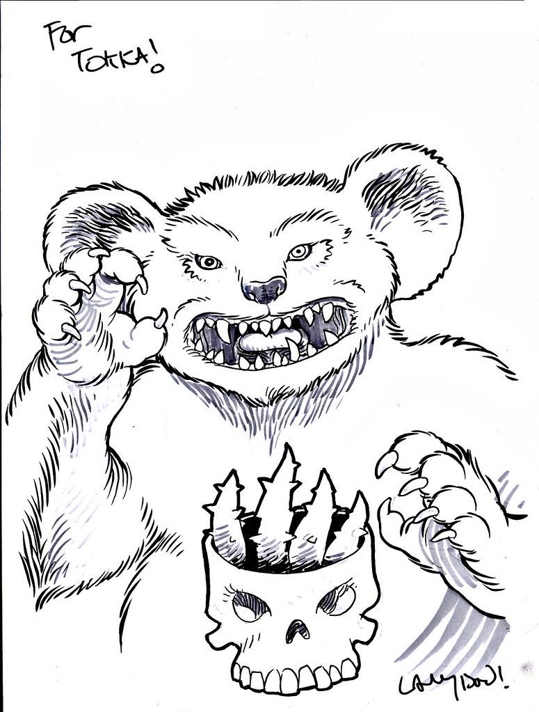 """PAIN BEAR"" of the Terror Bears by LANGDON FOSS (( 2015 )) by tOkKa"