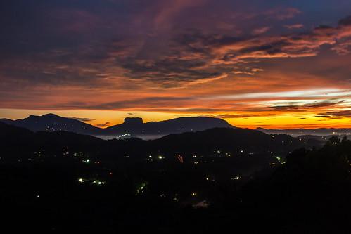 sunset sky mountain beautiful rock clouds evening cloudy bible srilanka kandy biblerock kadugannawa kegalle