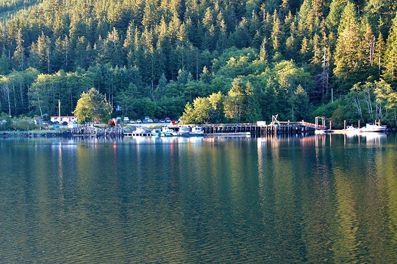 Fair Harbour, Kyuquot Sound, Vancouver Island, British Columbia, Canada. Photo: Santa Brussouw.
