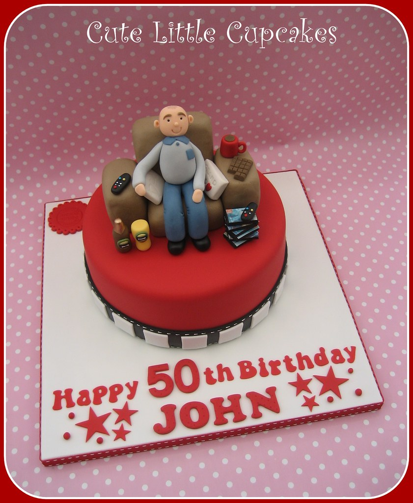 Sensational 50Th Birthday Cake Heidi Stone Flickr Personalised Birthday Cards Sponlily Jamesorg