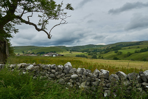 paulinuk99999 malham yorkshire dales national park stone walls countryside green lush cloudy weather