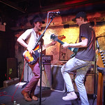 Wed, 25/03/2015 - 12:53pm - Houndmouth performs songs for an audience of WFUV Marquee Members, 3/11/15. Hosted by Carmel Holt. Photo by Gus Philippas.