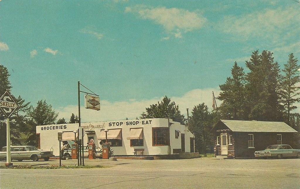 Lake George Mn >> Skelly Station Lake George Mn Undated 1960s Postcard Wi